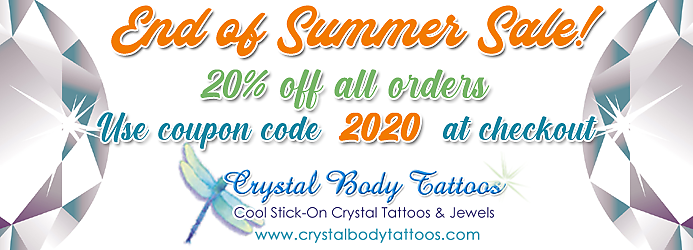 End of Summer Sale! Enter Coupon Code 2020 at Checkout!